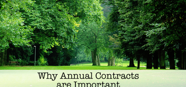 Why Annual Contracts are Important